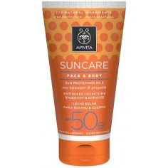 APIVITA SUN Face & Body SPF 50 Milk 150ml