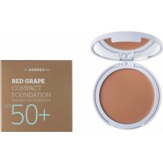 KORRES ΑΝΤΗΛΙΑΚΟ MAKE UP SPF 50 ΚΟΚΚΙΝΟ ΣΤΑΦΥΛΙ LIGHT SHADE No1