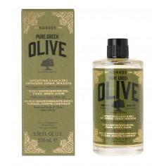 Korres Pure Greek Olive Θρεπτικό Λάδι 3 Σε 1 100 mL