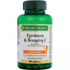 Nature's Bounty Εχινάκεια & Βιταμίνη C με Αγριοτριανταφυλλιά 60 tabs