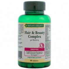 Nature's Bounty Hair & Beauty Complex 60Tabs