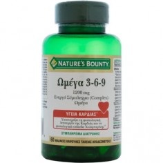Nature's Bounty Omega 3-6-9 1200mg 60Caps