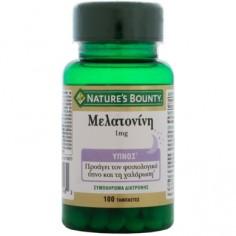 Nature's Bounty Μελατονίνη 1mg 100Tabs