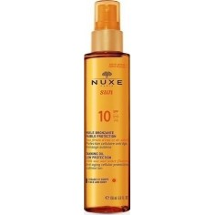 NUXE SUN Tanning Oil 10spf 150mL