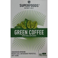 SUPERFOODS GREEN COFFEE 90CAPS