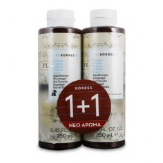 KORRES SHOWER GEL YOGHURT 1+1 ΔΩΡΟ 2x250mL