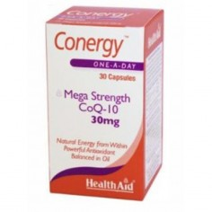 HEALTH AID CONERGY COQ-10 30mg 30caps