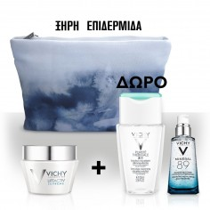 VICHY SET LIFTACTIV SUPREME ΞΗΡΗ 50mL & ΔΩΡΟ PURETE THERMALE 3in1 100mL + ΔΕΙΓΜΑ MINERAL 89 1.5mL