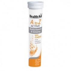 HEALTH AID A-Z ACTIVE MULTI+GINSENG 20 eff. tabs
