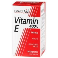 HEALTH AID VITAMIN E  400 i.u. 30caps