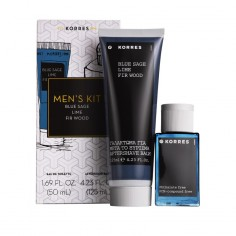 ΠΡΟΣΦΟΡΑ ΣΕΤ KORRES MEN'S ESSENTIAL BLUE SAGE ΑΡΩΜΑ 50mL & ΔΩΡΟ   AFTERSHAVE 125ml