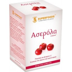 SUPERFOODS ΑΣΕΡΟΛΑ EUBIAS 300mg 50 caps