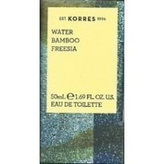 KORRES NEW EAU DE TOILETTE WATER BAMBOO FREESIA 50ml