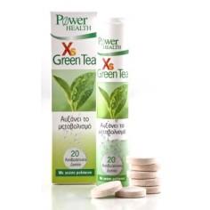 POWER HEALTH XS GREEN TEA 20eff.tabs