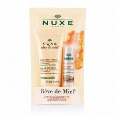 GIFT SET NUXE SET REVE DE MIEL HAND AND NAIL CREAM 30mL & STICK LEVRES 4g