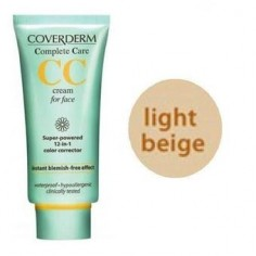 COVERDERM COMPLETE CARE CC Light Beige 25spf 40ml