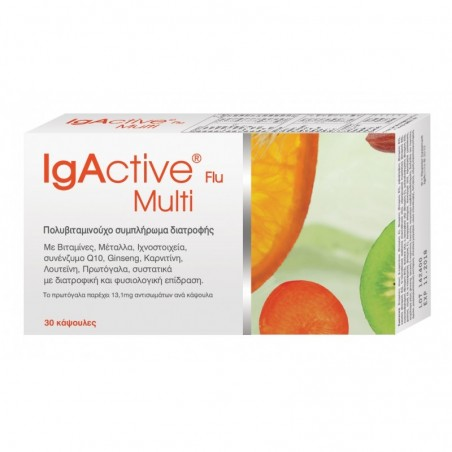 IGACTIVE FLU Multi Vitamin 30caps