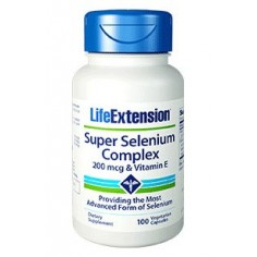 LIFE EXTENSION SUPER SELENIUM  200MCG 100CAPS