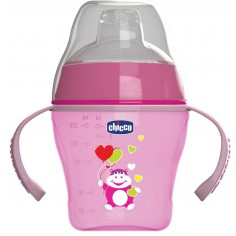 CHICCO SOFT CUP 6M+ ΡΟΖ