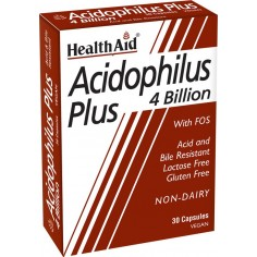 HEALTH AID ACIDOPHYLUS PLUS 30CAPS
