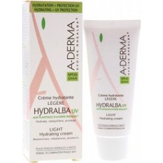 ADERMA Hydralba Creme  UV Light SPF20 40ml
