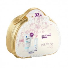 PANTHENOL EXTRA GIFT FOR HER Face and Eye Cream (50ml) & Face and Eye Serum (30ml) ΜΕ ΔΩΡΟ Face Cleansing Gel (150ml)