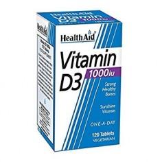 HEALTH AID VIT. D3 1000i.u. 120tabs