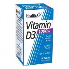 HEALTH AID VIT. D3 1000i.u. 30tabs