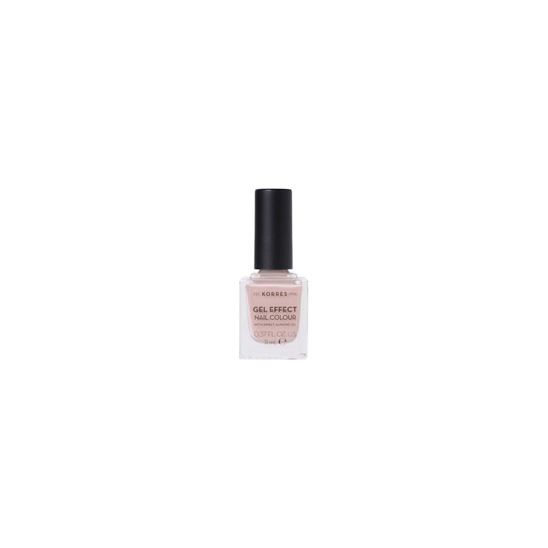 KORRES GEL EFFECT NAIL COLOUR No32 COCOS SAND 11mL