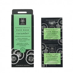 APIVITA FACE MASK CUCUMBER 2x8ml