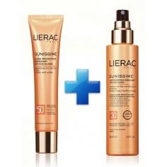 LIERAC Sunissime Lait Protecteur SPF30 150mL & LIERAC Sunissime Fluide Protecteur SPF50+ 40mL