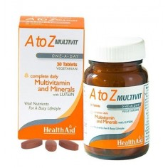 HEALTH AID A to Z MULTIVIT 30 tablets