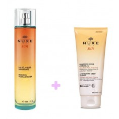ΠΡΟΣΦΟΡΑ NUXE SUN FRAGRANCE & AFTER-SUN  HAIR  AND BODY SHAMPOO SET